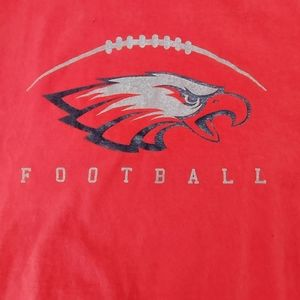 AlStyle Red Eagles Football T-Shirt Size 2XL